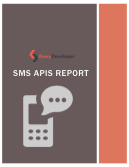 SMS APIs report