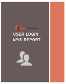 User Login APIs report